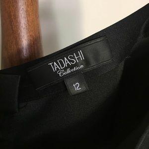 Tadashi Shoji Skirts - Tadashi Collection Black Satin Formal Maxi Skirt